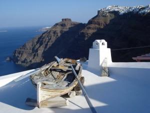 6. Isla de Santorini (Grecia)