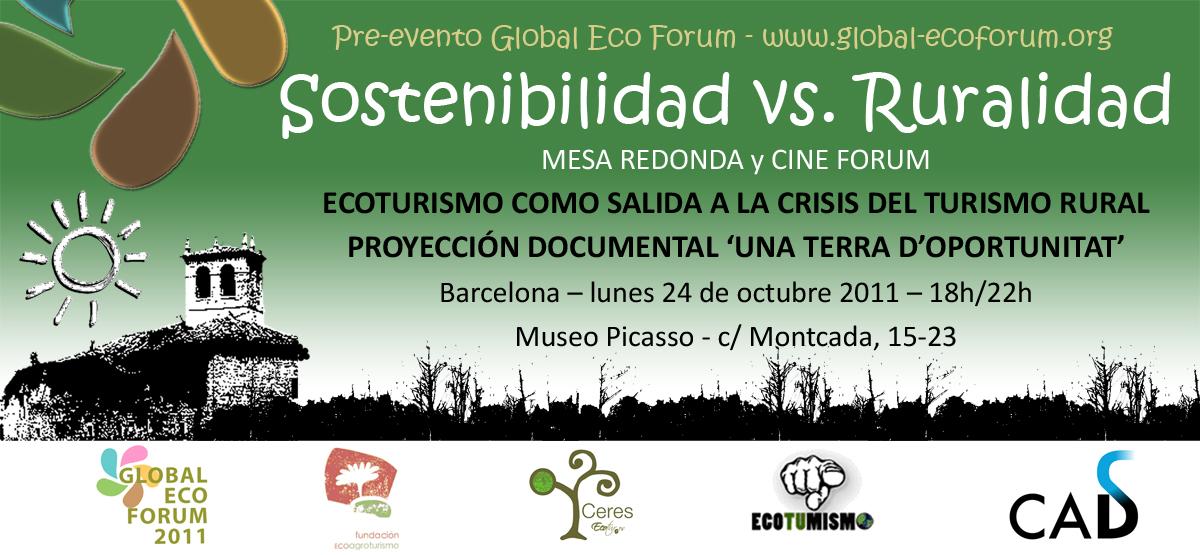 PRE-EVENTO GEF11 BARCELONA: Sostenibilidad vs. Ruralidad