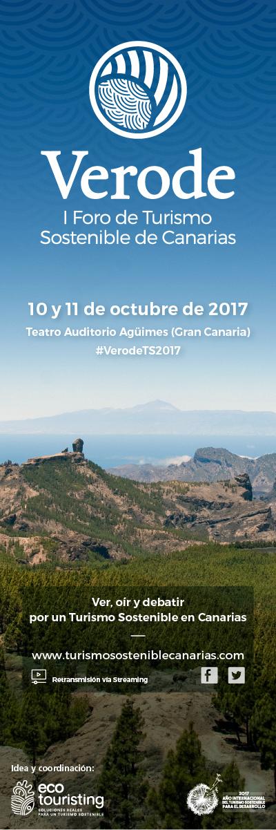 Verode - I Foro de Turismo Sostenible de Canarias