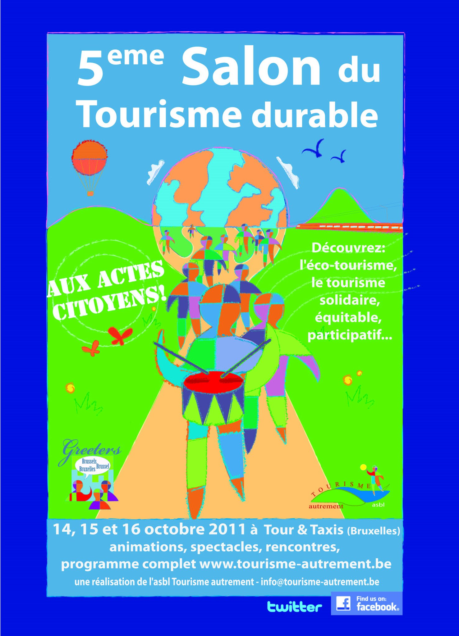 Una cita en octubre con el TURISMO SOSTENIBLE en Bruselas