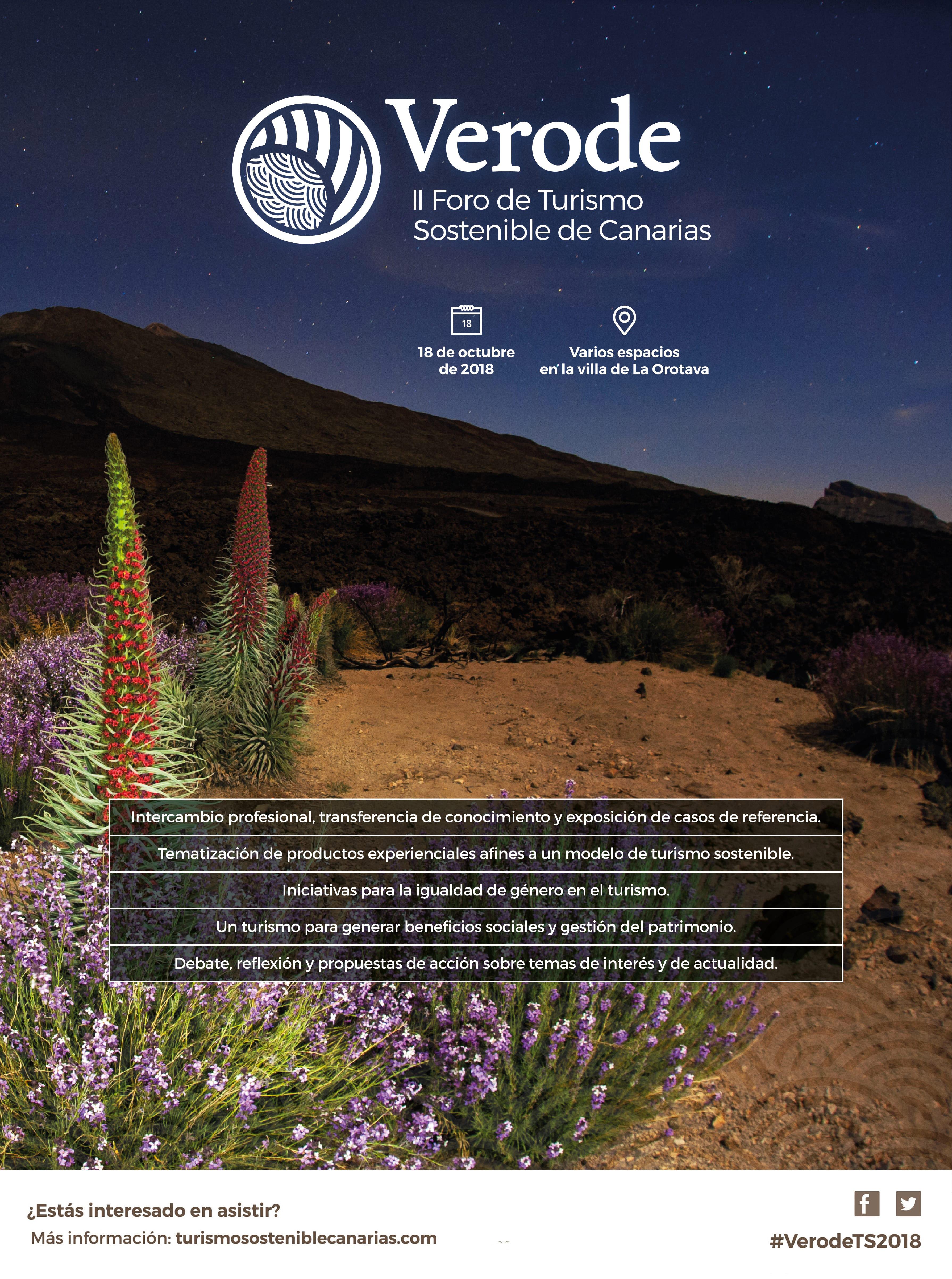Verode - II Foro de Turismo Sostenible de Canarias