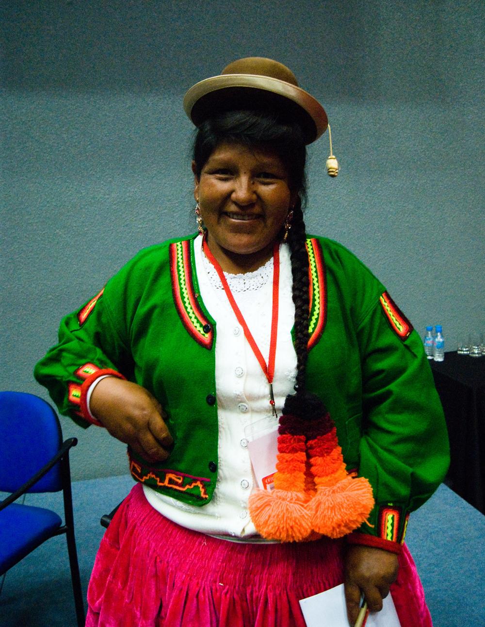 Cristina Suaña: ejemplo de la fuerza emergente de la MUJER en el TURISMO