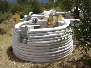 Eco-Domo Superadobe bioconstrucción
