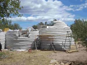 Pasos para construir un Eco-Domo Superadobe