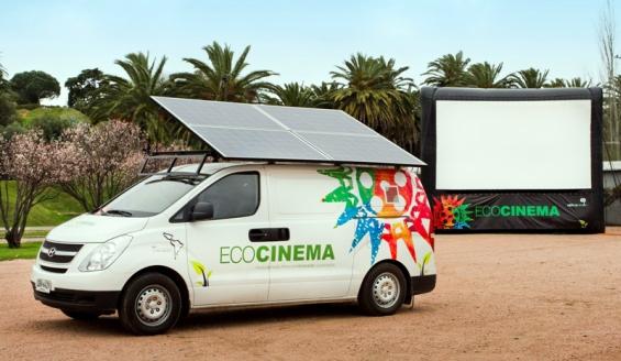 El ECOCINE, una propuesta socio-cultural sostenible que llega al Uruguay