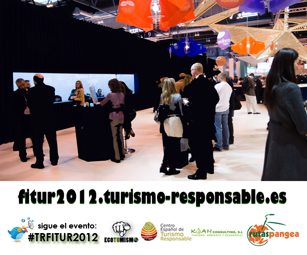 Debate y sesión de networking sobre TURISMO RESPONSABLE en Fitur 2012