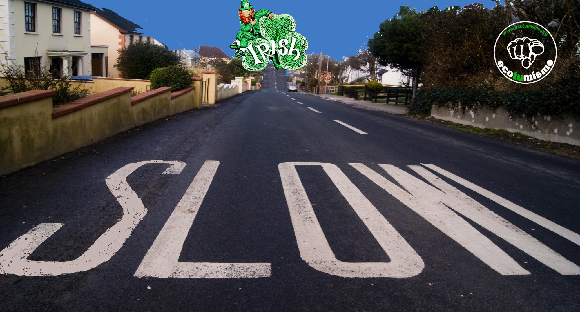 IRELAND… slowing down again!