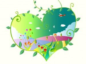 Amor ecológico!