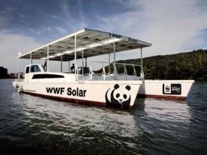 Barco solar WWF