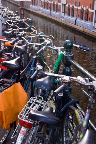 bicicleta movilidad sostenible Amsterdam