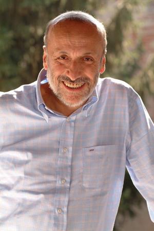 Carlo Petrini, fundador del Movimiento Slow Food, en Barcelona el 2 de mayo