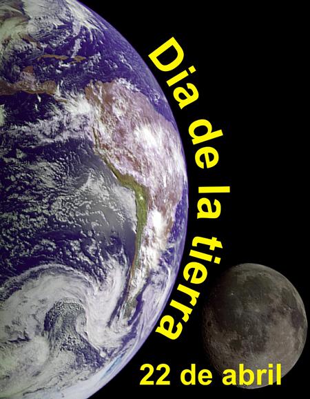 Grita a favor de las RENOVABLES y contra el CAMBIO CLIMÁTICO en el día de la TIERRA