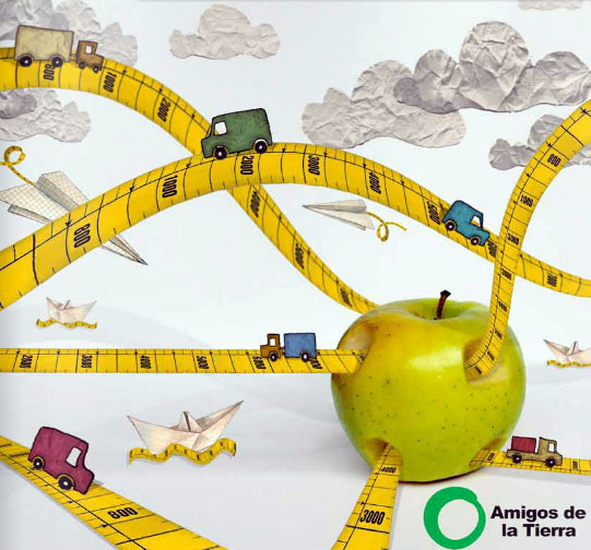 El TRANSPORTE supone el 40% del consumo total de energía requerido en la producción de alimentos