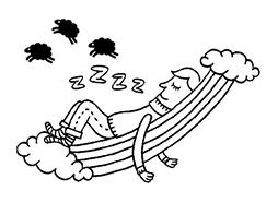 Kids Sleeping Zzzzz Clip Art