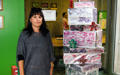 Beatriz González, coordinadora del proyecto en el IES Marina de Cebrián (Tenerife)